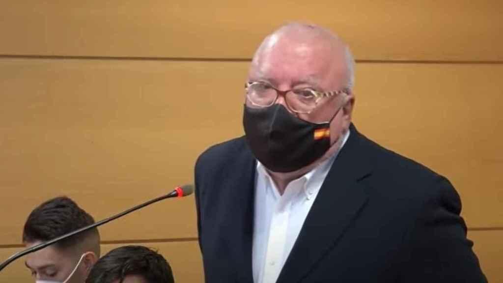 El excomisario José Manuel Villarejo, ante el juez.