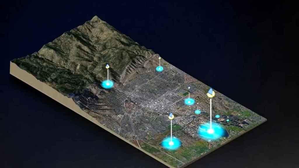 Una simulación de la plataforma Divirod para predecir las catástrofes hídricas.