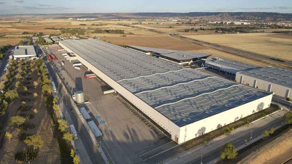 Uno de los centros logísticos de Prologis en España.