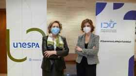 Pilar González de Frutos, presidenta de Unespa, y Marta Villanueva, directora general de la Fundación IDIS.