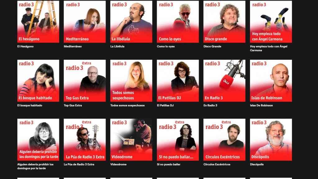 Spotify ahora ofrece acceso a cientos de programas de RNE
