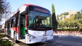 Autobús autónomo presentado en Málaga