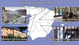 El caso insólito de las 4 residencias sin muertos ni contagiados por Covid, y con todos ya vacunados