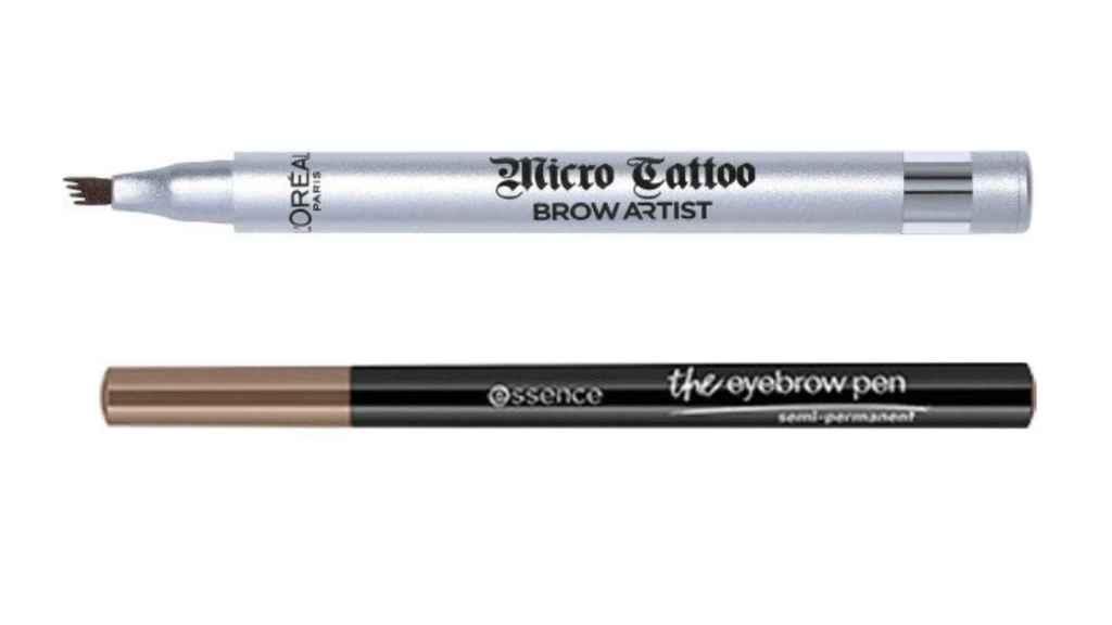 Los lápices de cejas se han reinventado ofreciendo un acabado más permanente.