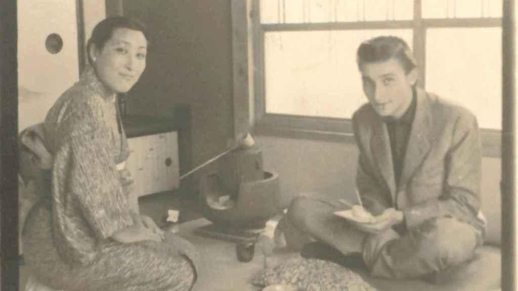 Antonio Gades, en Japón, años sesenta.