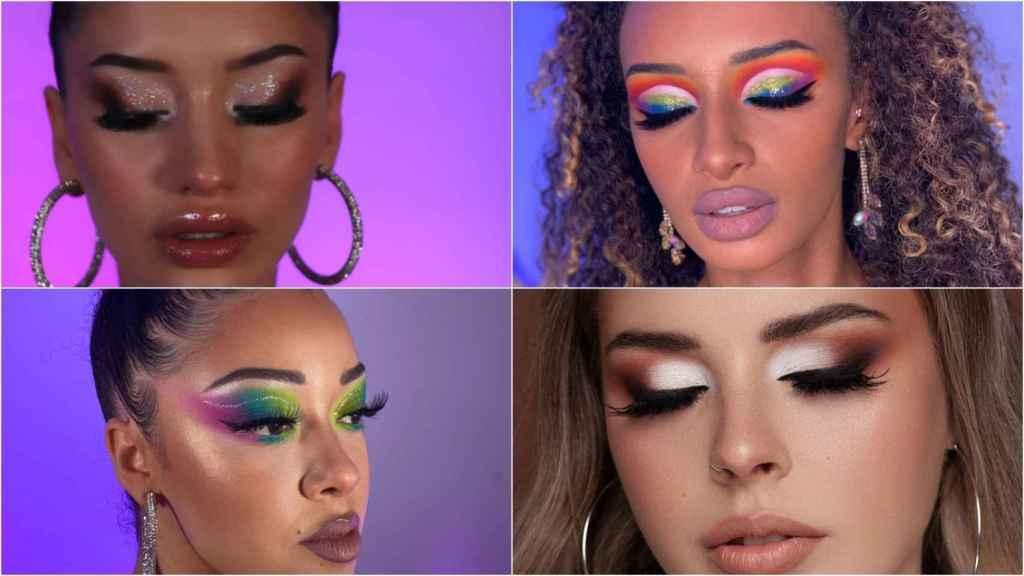Los tutoriales de maquillaje de Alana han tenido tanto éxito que ha montado una web para comercializarlos.