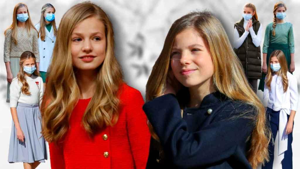 Las hijas de los Reyes han conquistado a la prensa alemana gracias a su estilo y su complicidad.