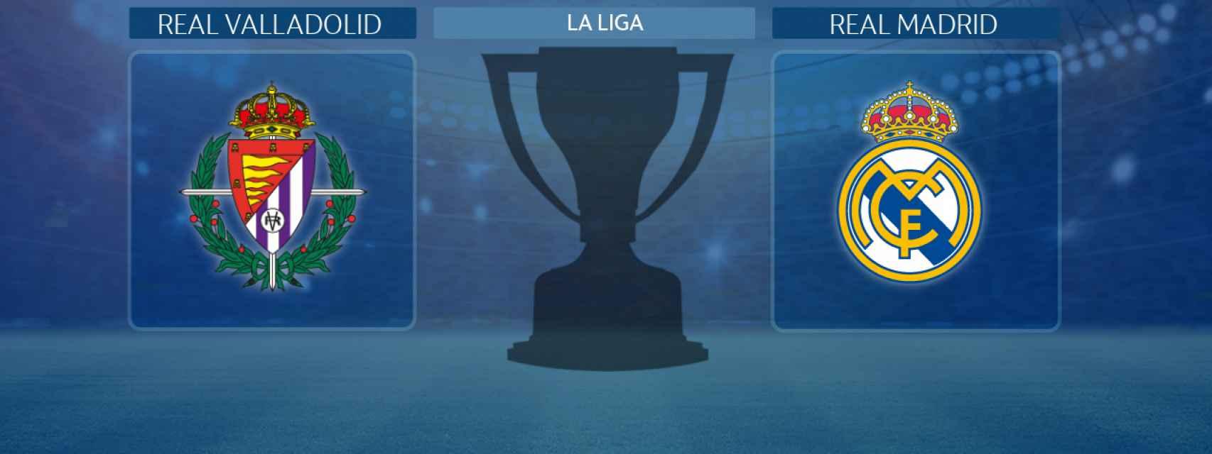 Real Valladolid - Real Madrid, partido de La Liga