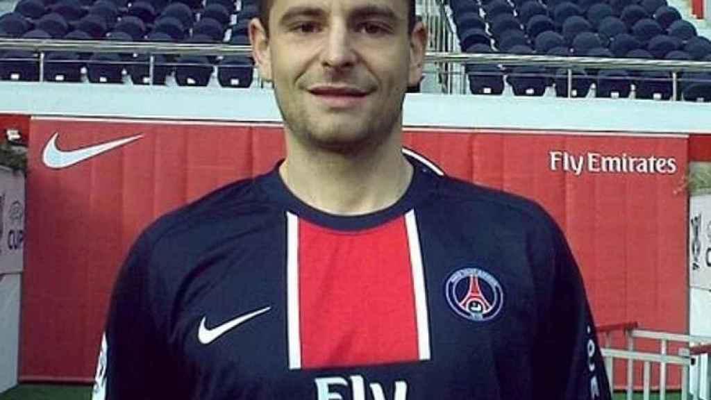 Gregory Akcelrod con el PSG