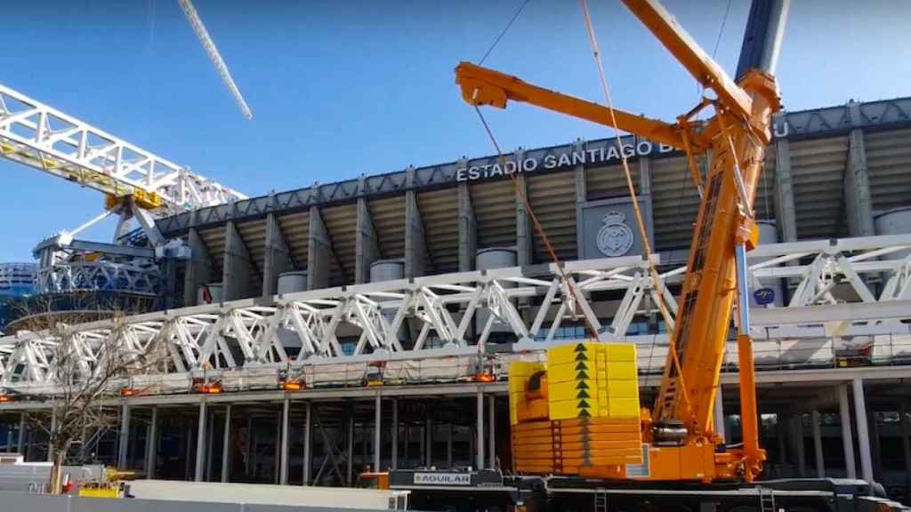 La nueva 'megacercha' del Santiago Bernabéu