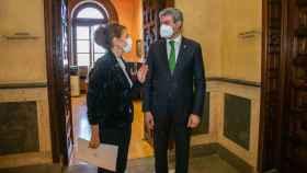Aurelia Sánchez y Álvaro Gutiérrez