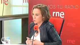 Cuca Gamarra, en entrevista a RNE.