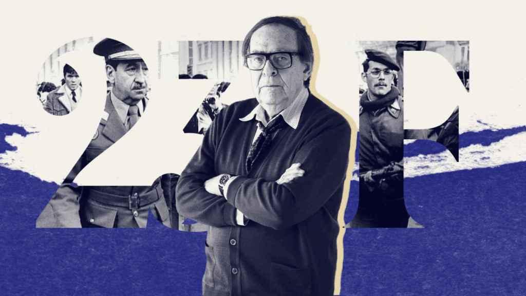 El economista Ramón Tamames vivió el 23-F como diputado del PCE.