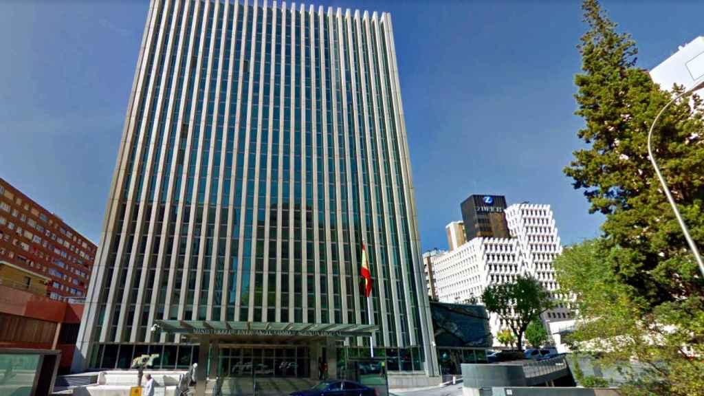 Sede de la Secretaría de Estado de Telecomunicaciones e Infraestructuras Digitales, así como de la Secretaría de Estado de Digitalización e IA.