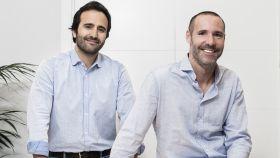 Álvaro Luna y Antonio Brusola, cofundadores de Housers, en una foto de archivo.