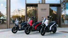 Motos eléctricas de Seat Mó.