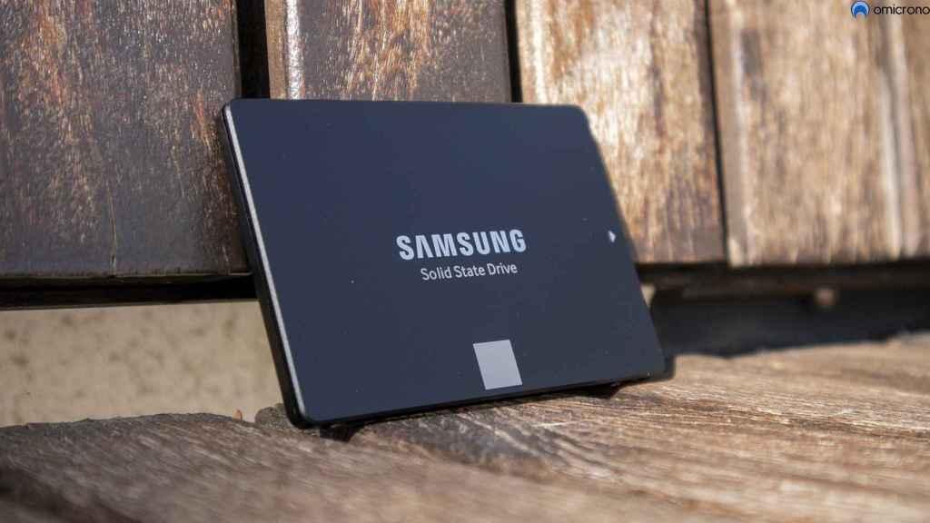 SSD 870 EVO de Samsung.