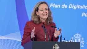 La vicepresidenta tercera del Gobierno y Ministra de Asuntos Económicos y Transformación Digital, Nadia Calviño.