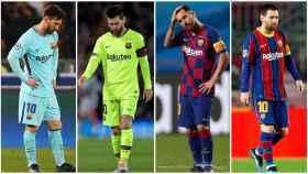 Collage de Leo Messi