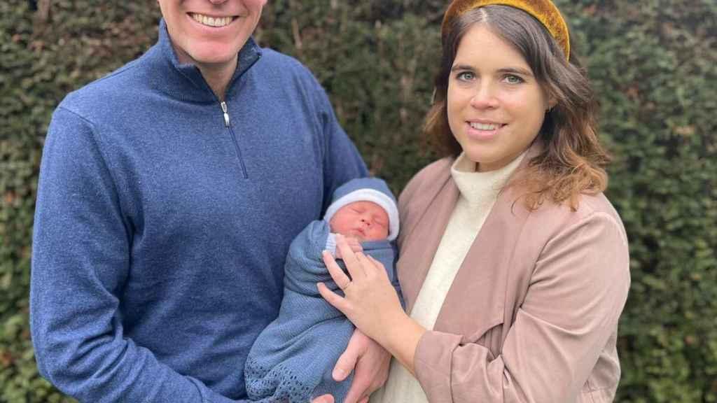 Eugenia de York y Jack Brooksbank en la fotografía que han facilitado en sus redes sociales.