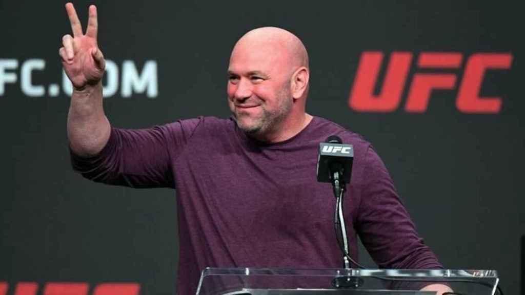 Dana White, presidente de la UFC