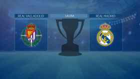 Streaming en directo | Valladolid - Real Madrid (La Liga)