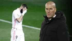 Zidane y las lesiones del Real Madrid, en un fotomontaje