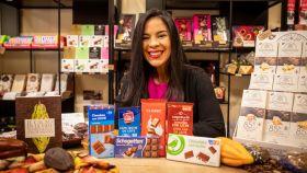 Las 6 tabletas de chocolate con leche probadas por Helen, directora del Salón Internacional del Chocolate de Madrid.