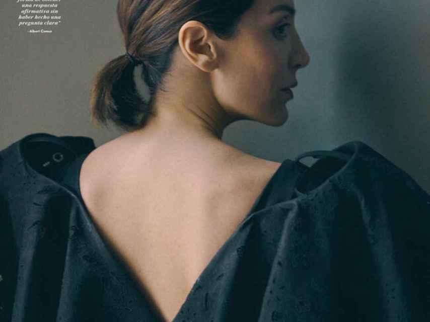 Tamara Falcó en la portada de la revista 'Vanity Fair'.
