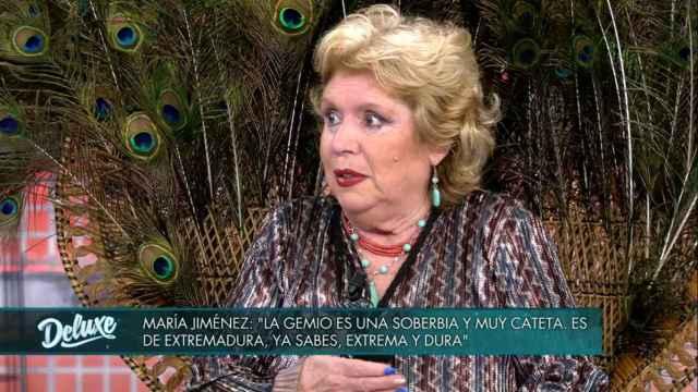 El zafio ataque de María Jiménez a Extremadura en 'Sábado Deluxe'