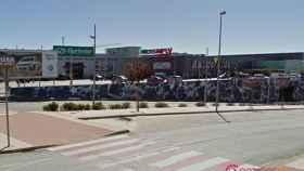 Centro Comercial Camaretas, en Soria.