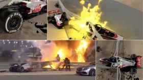 La F1 más impactante: recrean el accidente de Grosjean en Bahrein y explican por qué sobrevivió