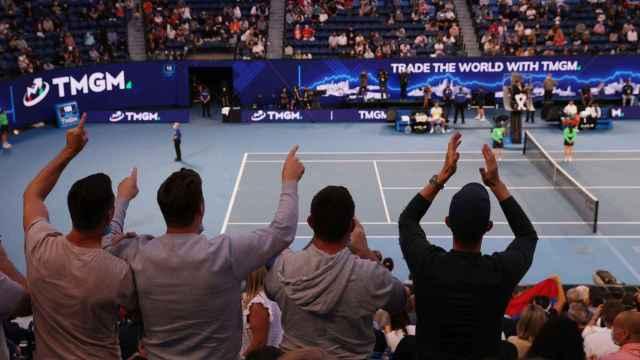 La final del Open de Australia, en imágenes: el público, encendido con Medvedev y Djokovic en la Rod Laver
