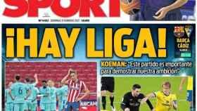 Portada Sport (21/02/21)