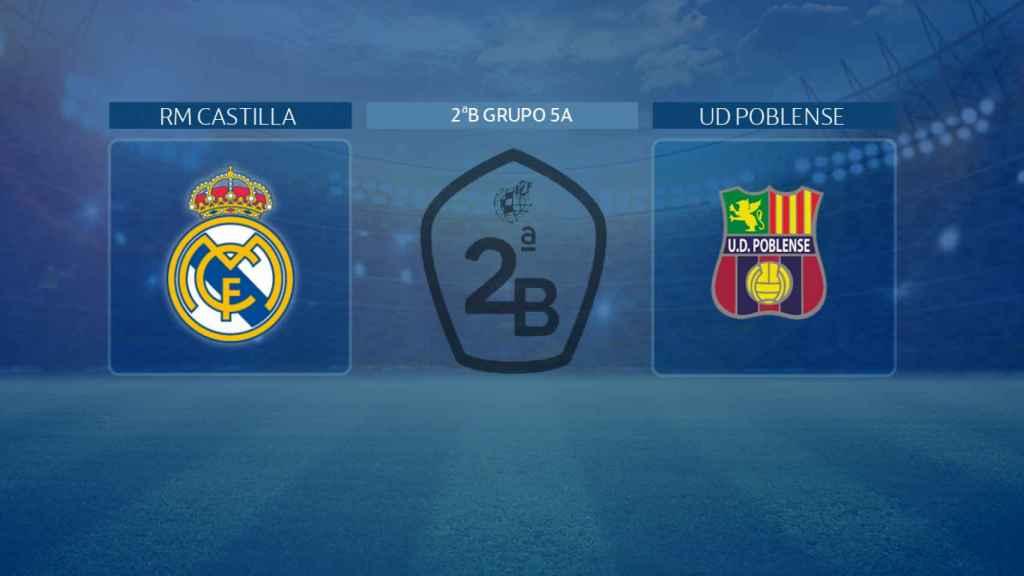 Real Madrid Castilla - Poblense