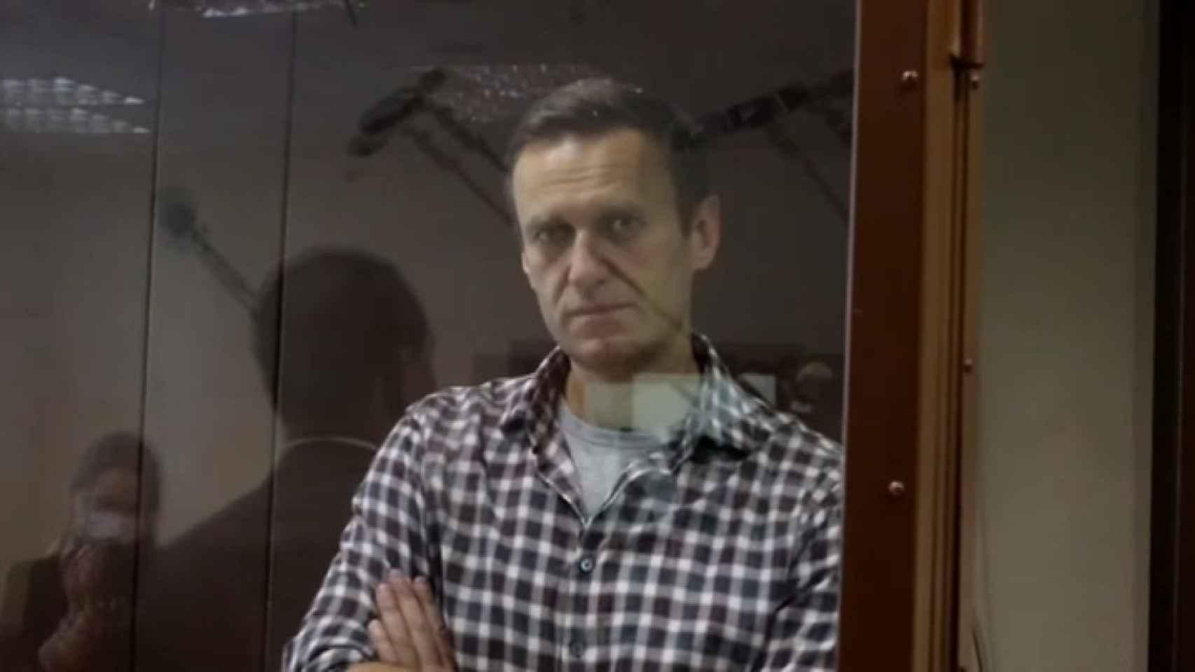 El Tribunal ruso rechaza la apelación a la pena de prisión dictada contra Alexéi Navalny