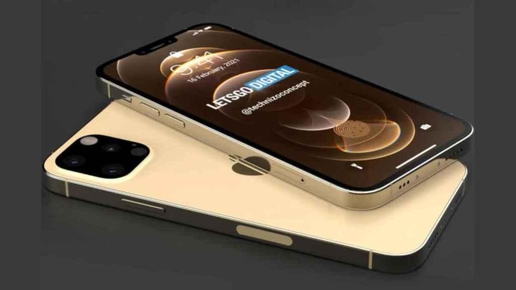 Renders iPhone 13.