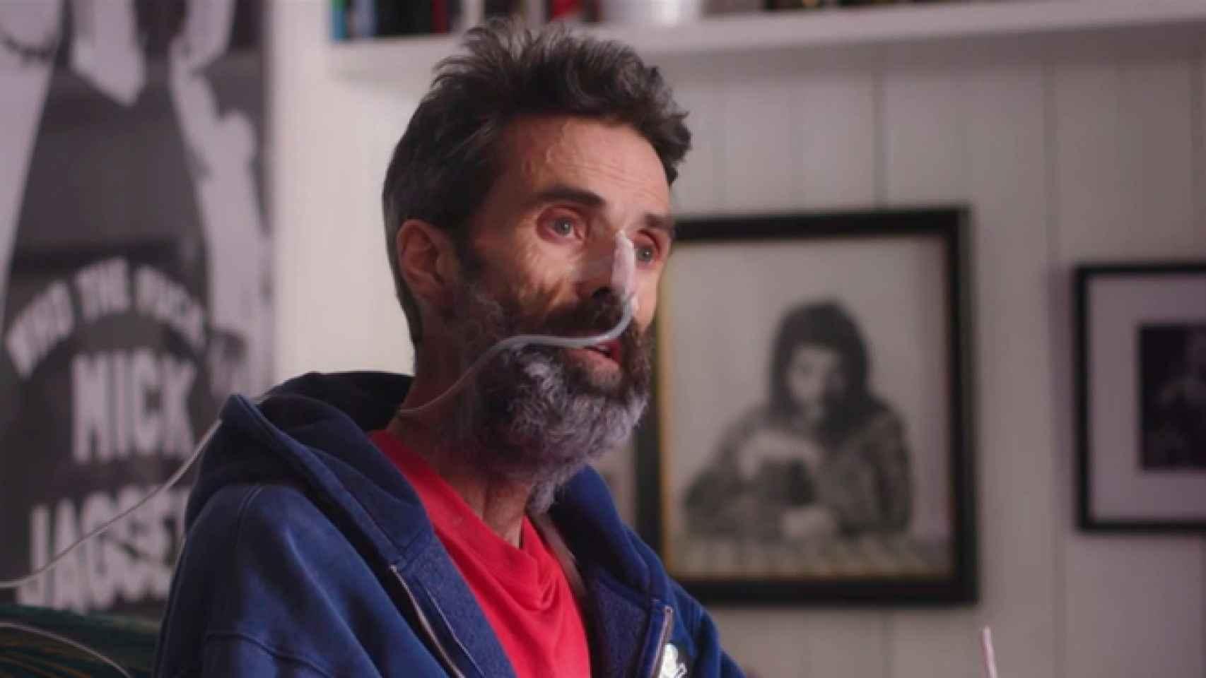 Pau Donés, durante su entrevista con Jordi Évole.