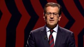 Toni Freixa, durante uno de los debates electorales