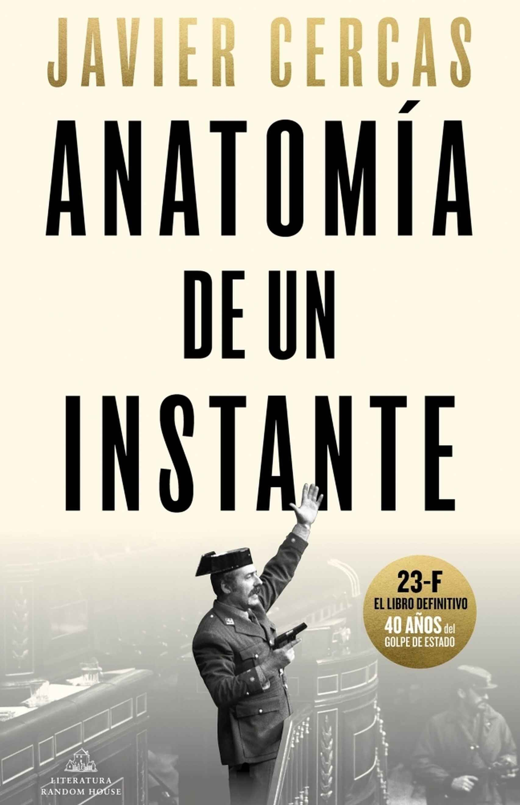 Nueva portada de 'Anatomía de un instante'.