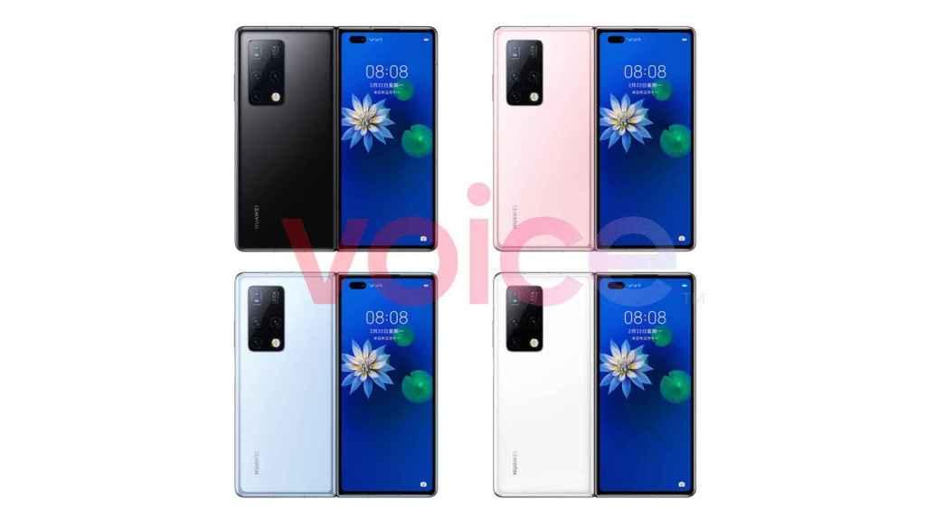 Huawei Mate X2.
