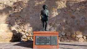 Estatua de Francisco Franco en Melilla. Efe