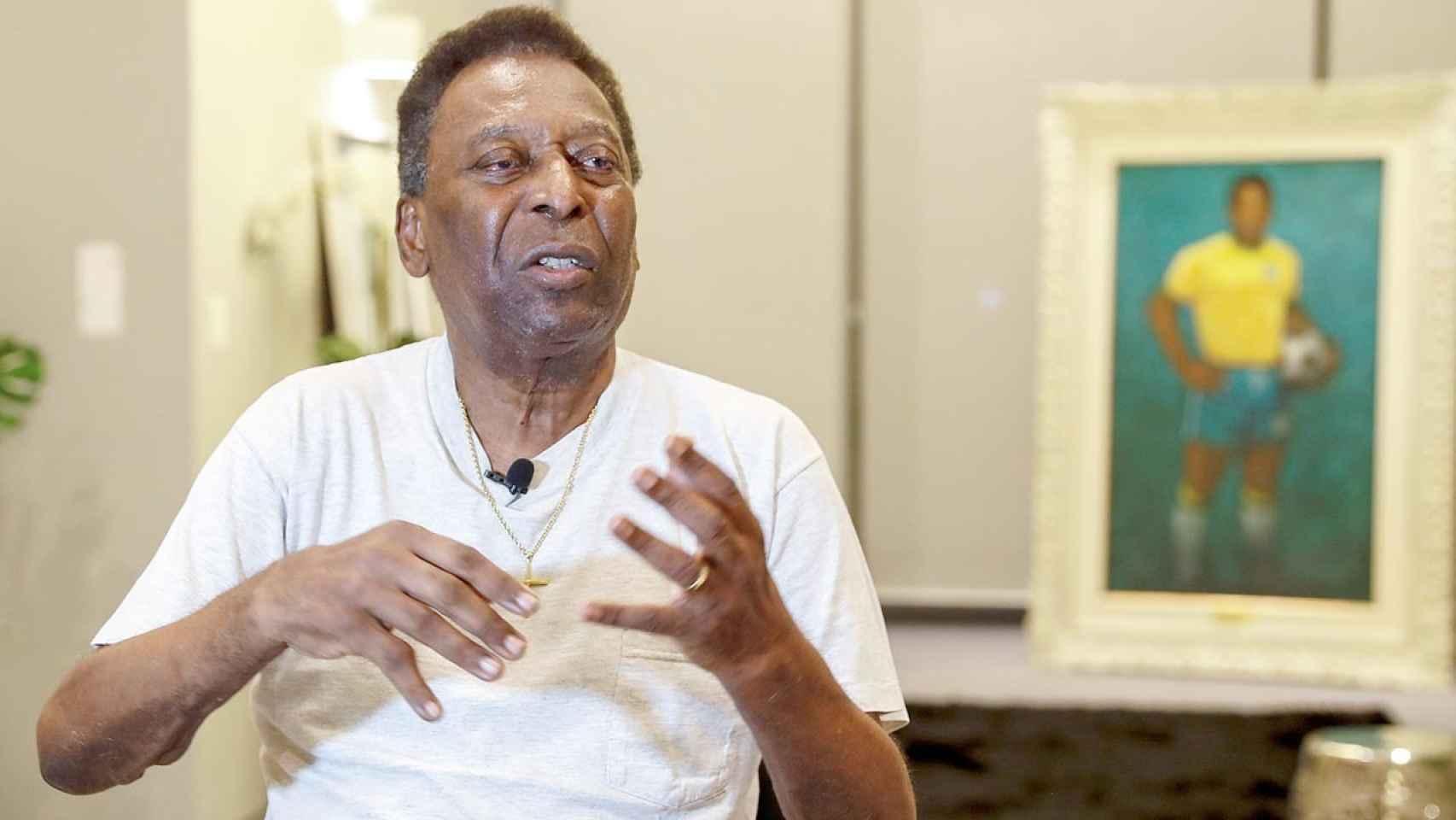 Murio el gran futbolista Pelé