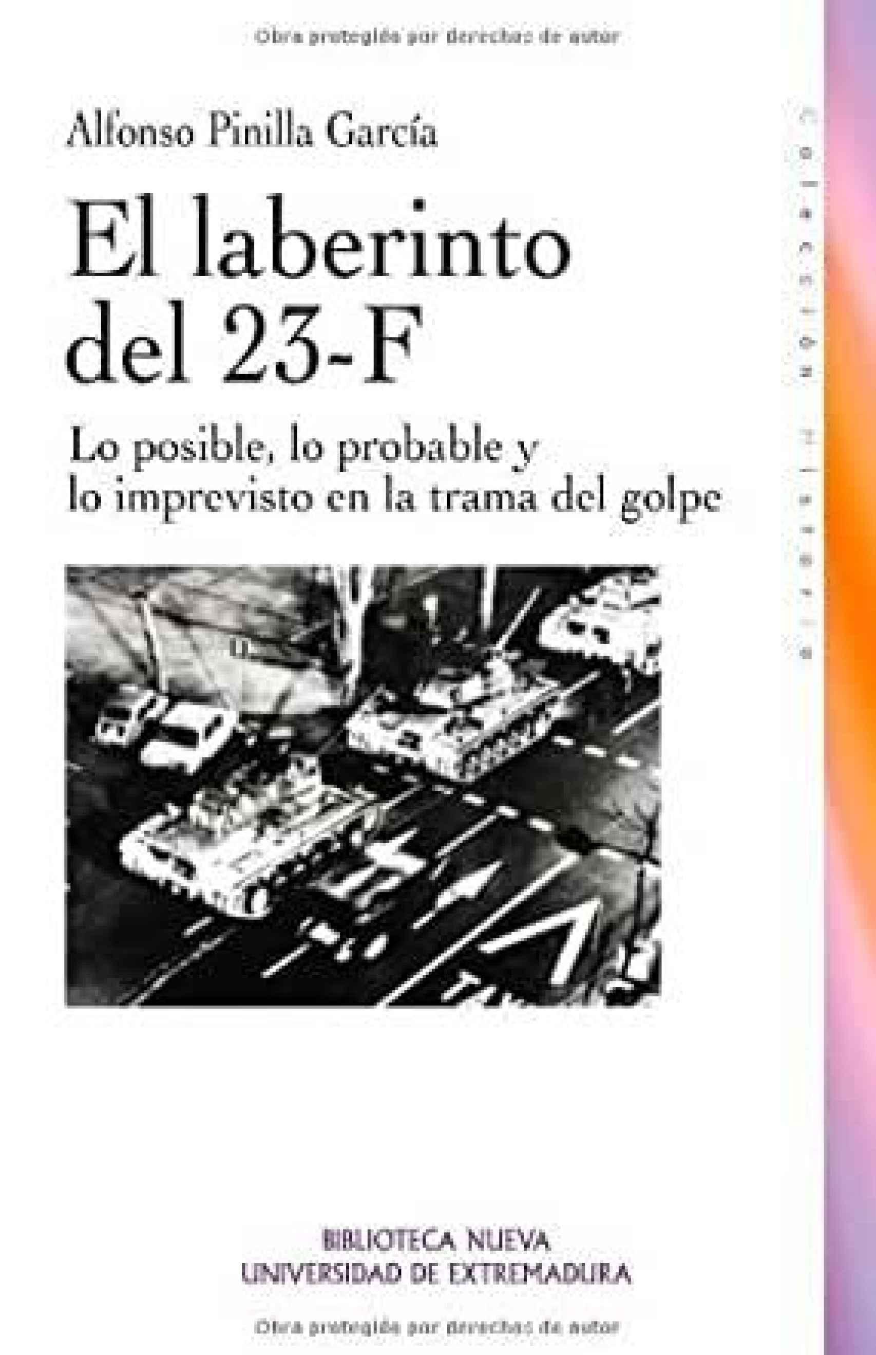 Cover of 'El laberinto del 23-F'.