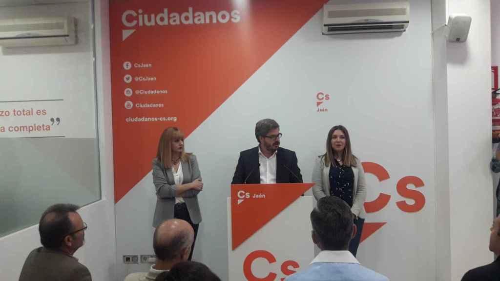 Presentación de Cantos (Izda) como candidata de Cs en 2017