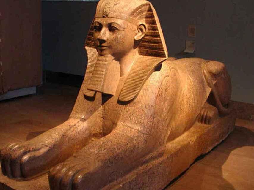 El faraón Hatshepsut.
