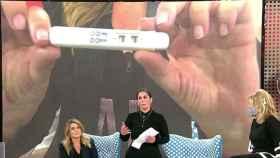 Anabel Pantoja se entera en directo en 'Sálvame' y por sorpresa que está embarazada