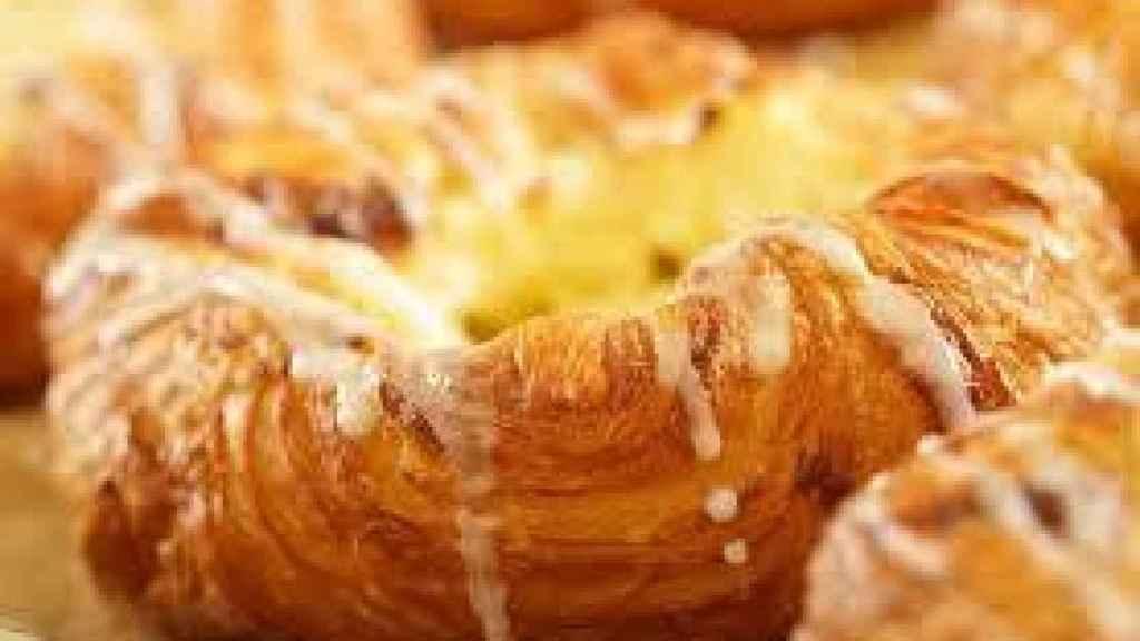 Un dulce como el que podemos comprar en pastelerías y supermercados.