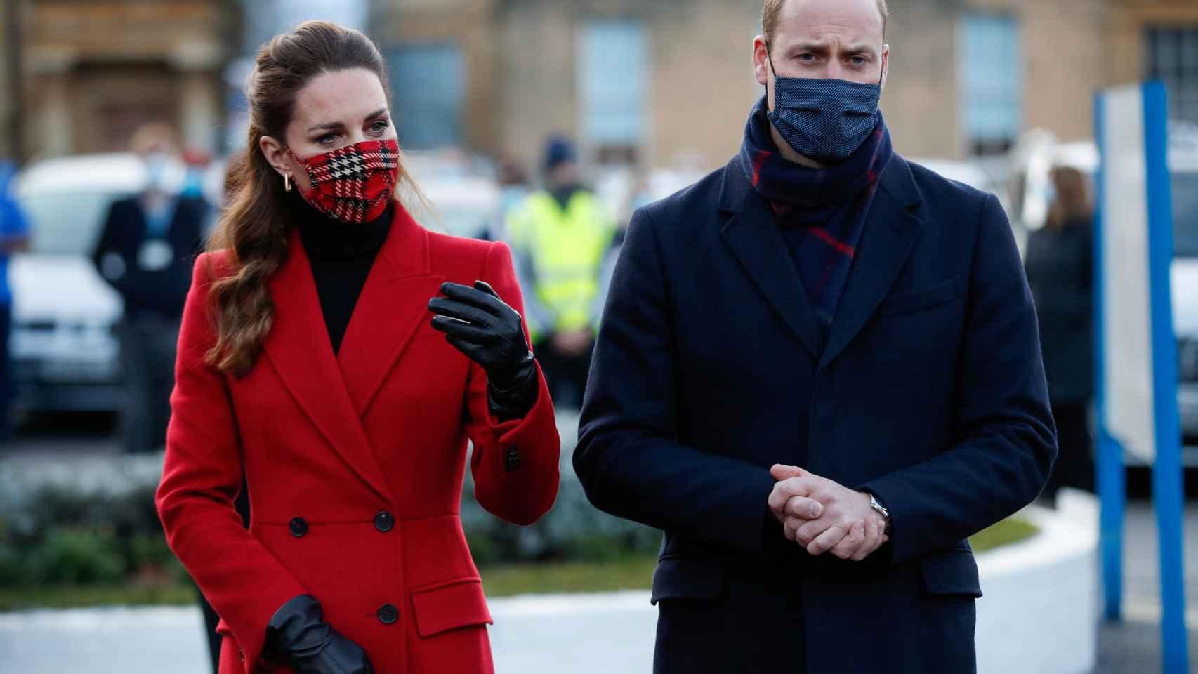 El prícnipe Guillermo y Kate Middleton en una imagen de archivo.