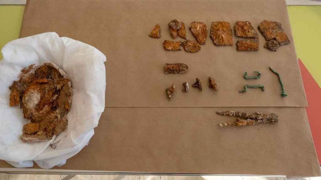 Los hallazgos realizados durante la restauración de la Muralla Púnica.